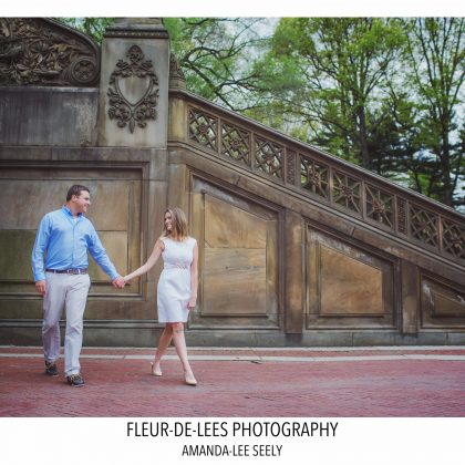 Darcey and Tim. Engaged. Central Park, NYC .Long Island Wedding Photographer