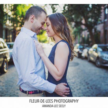 K and M. Engaged. West Village, NYC. Long Island Wedding Photographer.