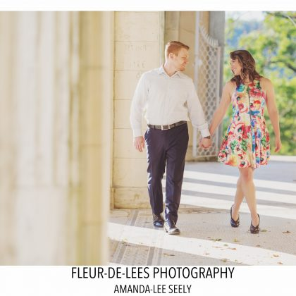 Alyssa and Rich. Engaged. Untermyer Gardens. Yonkers, New York. Long Island Wedding Photographer.