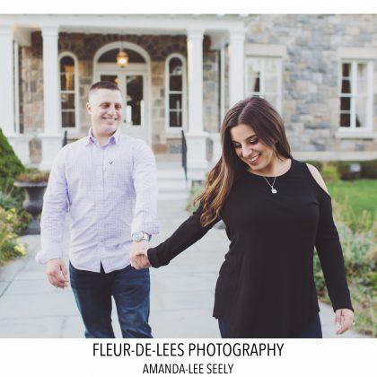 Engaged. Jill and Matt. Brecknock Hall, Greenport, New York. Long Island Wedding Photographer.