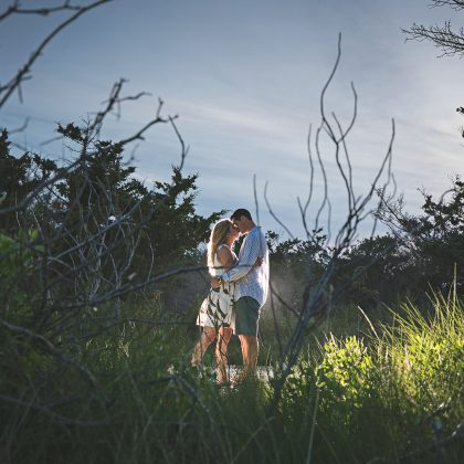Courtney and Charly. Engagement Session. Fire Island, Long Island. Long Island Wedding Photographer.