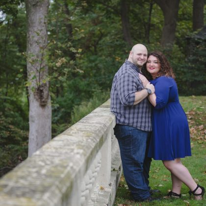 Christina and Jeremy's Vanderbilt Engagement Session.