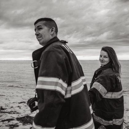 Kayla and Joshua. Fire Island. Long Island Wedding Photographer.