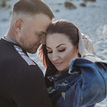 Michelle and Paul. Engaged. Captree State Park. Long Island Wedding Photographer.
