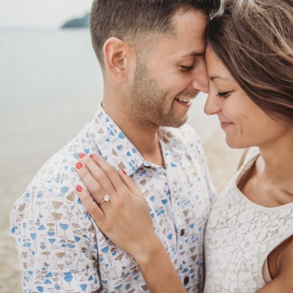 Ally and Mike. Surprise Proposal. Sunset Beach Hotel. Shelter Island, NY. Shelter Island Wedding Photographer