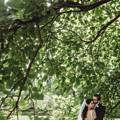 Melanie and Joe's Gorgeous Brooklyn Botanical Gardens Wedding. Brooklyn, NY. Long Island Wedding Photographer