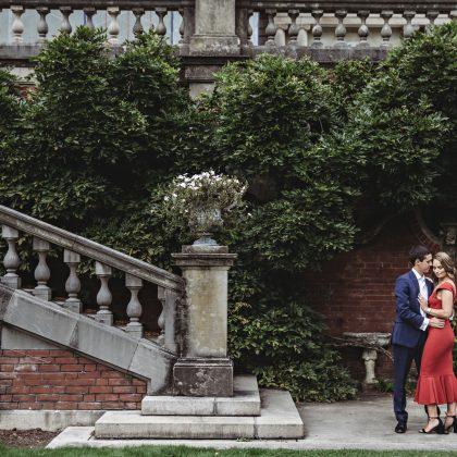 Jordan and TJ. Engaged. Old Westbury Gardens. Long Island Wedding Photographer.