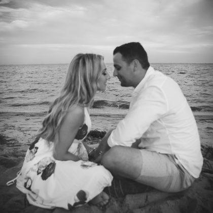 Danielle and Kent. Engaged. Sayville, New York. Long Island Wedding Photographer